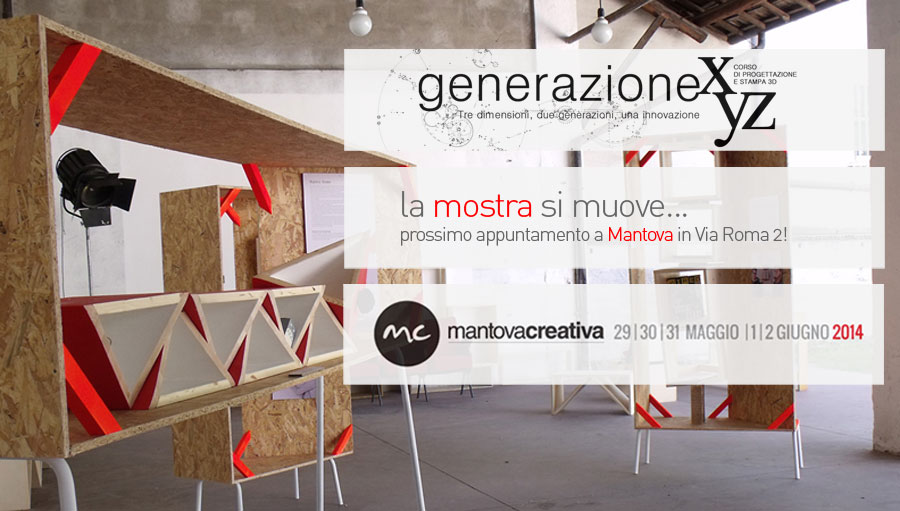 Generazione XyZ - Mostra - Mantova