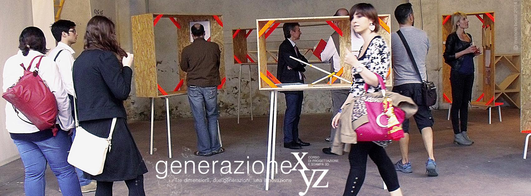 Generazione XyZ - Mostra - inaugurazione